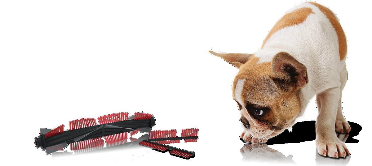 Турбощётка e.zipets - специально для квартир с домашними животными